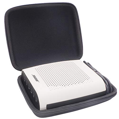 Semi-Hard Shockproof Case for Bose Soundlink Color II Wireless Bluetooth Speaker. Fits Plug & USB Cable. by Comecase