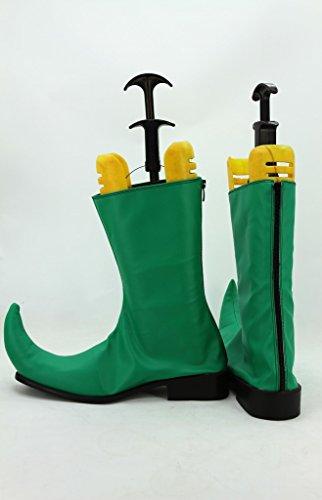 One Piece Anime Denon People Cosplay Zapatos Botas Por Encargo