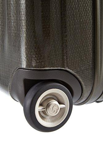 Samsonite LITE-CUBE Laptop Rollkoffer, 28.5 Liter, Dark Olive