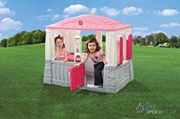 step2 naturally playful neat tidy cottage pink by step2 amazon co rh amazon co uk step 2 cottage playhouse replacement parts step2 happy home cottage & grill pink