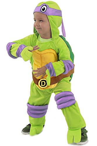 Princess Paradise Baby Boys' Donatello Jumpsuit Deluxe Costume, As Shown, 12 to 18 (Teenage Princess Costumes)