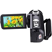 Camera Camcorders 1080P DV Infrared Night Vision HD Digital Zoom Camera 5 MP 3 of Touch Type Screen 16 Times Zooming Digital Video Camera with Mute Microphone