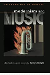 Modernism and Music: An Anthology of Sources Paperback
