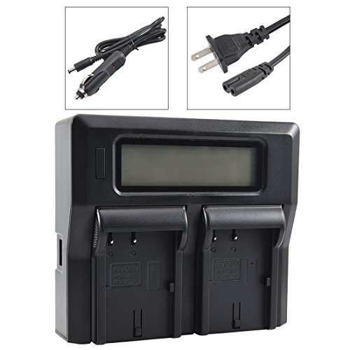 - DSTE Replacement for 1.5A Dual Battery Charger Compatible Canon BP-508 BP-511 BP-511A BP-512A BP-522 BP-535 with USB Port