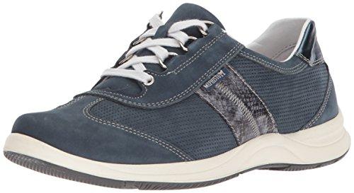 Mephisto Comfort Shoes (Mephisto Women's Laser Perf Sneaker, Navy, 9 M US)