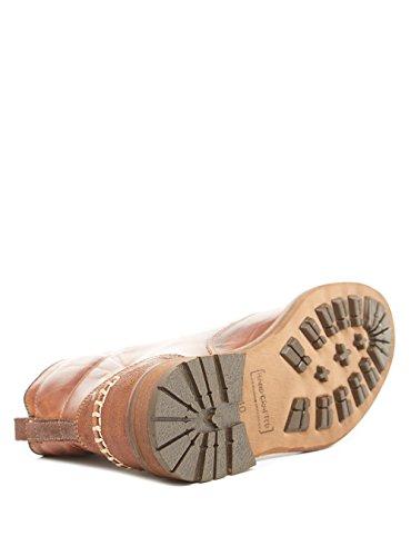 BULLBOXER - Botas de piel para hombre marrón