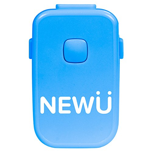 NewU Bedwetting Alarm With 8 Loud Tones, Strong Vibrations and Light; Full Featured Bedwetting Enuresis Alarm for Deep Sleeper Boys and Girls