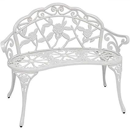 Fine Amazon Com Ophelia Co Heavy Duty Cast Aluminum White Theyellowbook Wood Chair Design Ideas Theyellowbookinfo