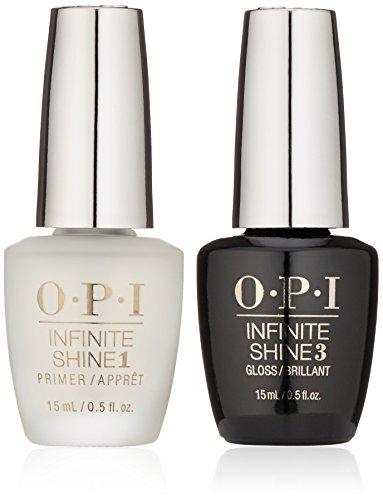 OPI Infinite Shine ProStay Primer & Gloss Duo Pack, 1 fl. oz. (Gloss Duo Pack)