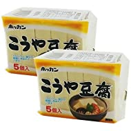 Freeze-dried Tofu from HOKKAIDO [Imported with SAIKO JAPAN Coupon Gift] (2 packages)