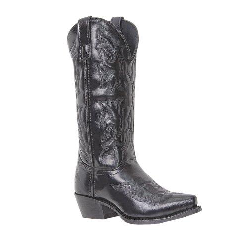 Laredo Men's Hawk Western Boot,Black,10 D US