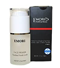 Emori Photo Finish Face Primer (Transparent) 1 Fluid Ounce - Face Foundation Base