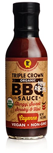 Barbeque Sauce Ketchup (Triple Crown Organic BBQ Sauce - Cayenne)