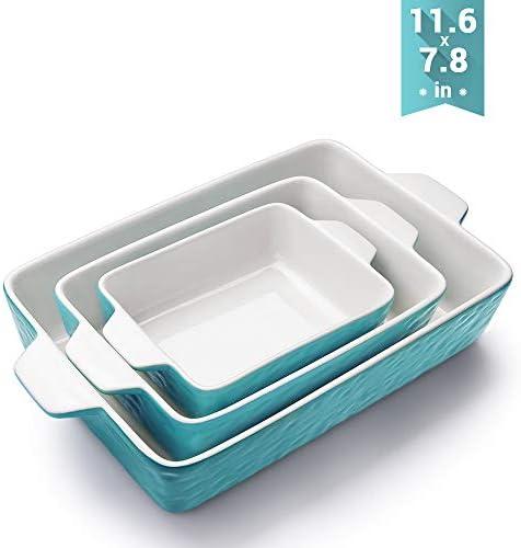 Bakeware Krokori Rectangular Ceramic Aquamarine product image