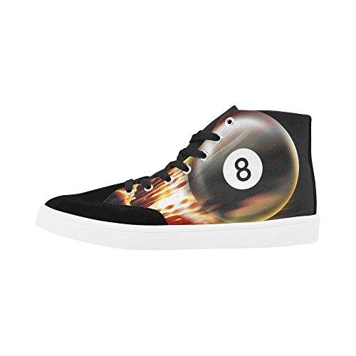 D-story Anpassade Biljard Höga Sneakers För Män Tygskor Mode Sneaker