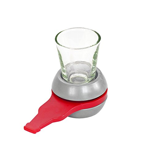 Fairly Odd Novelties Spin The Bottle Shot Spinning Shot Glass Drinking Novelty Game