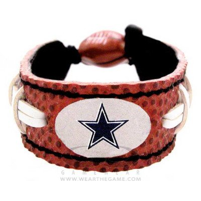 Dallas Leather Chair - NFL Team Leather Classic Wristband NFL Team: Dallas Cowboys