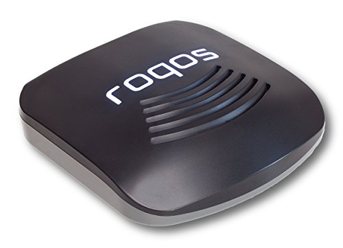 (Roqos Core VPN Router - Next Generation UTM Firewall, Intrusion Prevention, Parental/Employee Controls, WiFi - Protect Your IoT Devices from Hackers - Replace Your Router or Plug Into It - Coal)