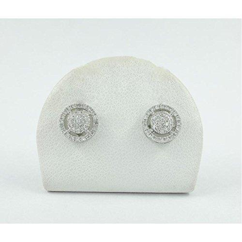 Boucles d'oreilles Bliss pour femme 1922200or blanc diamant