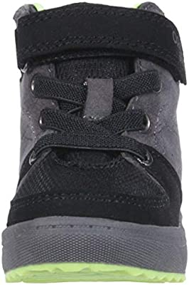 OshKosh B'Gosh Boys' Maximus Sneaker, Charcoal, 9 M US