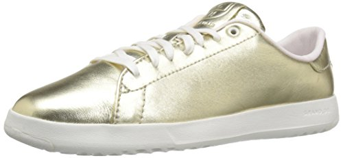 Metallic Gold Grandpro Cole Soft Tennis Haan Women's Sneakers X4SSw0Oq