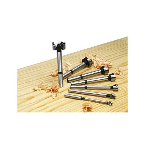 Freud 7 Pcs. Precision Shear Precision Shear Forstner Drill Bit Set (PB-107B) (Drill Precision Set)