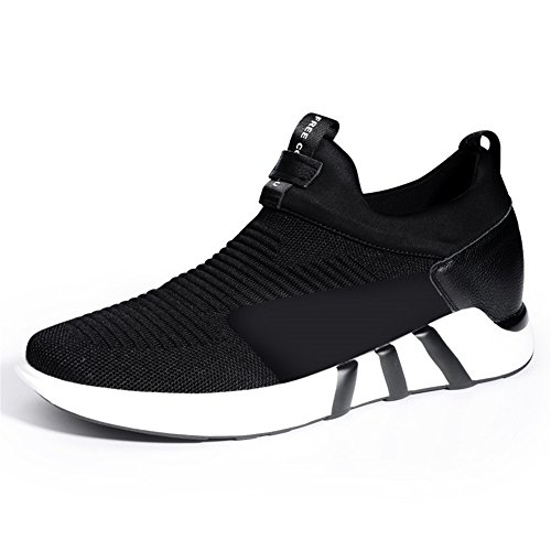 GOG Men's Height Height Height Increasing Light Weight Casual Sport Shoes Slip On Loafers 2.36 inches B07BBP4XBN Shoes 6eeefb