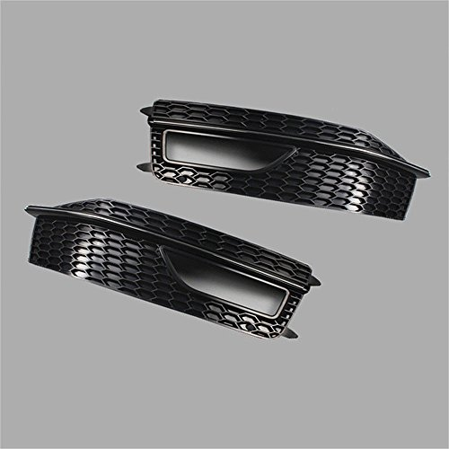 e Grill Cover Bezel Plate for Audi A4 S-Line S4 2013-2015 (US Stock) ()