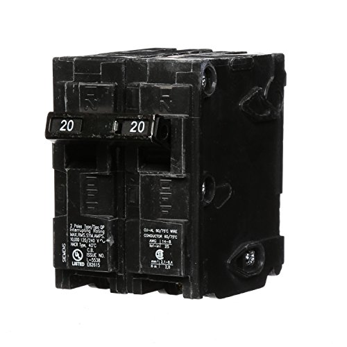 Q220 20-Amp Double Pole Type QP Circuit Breaker ()