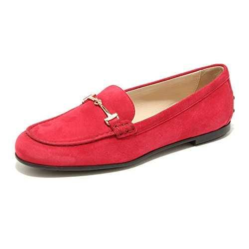 Mocassino Scarpa Shoes Rosso Moc Loafer Women 96493 Gomma Tod's Donna I4nRW1dwZ