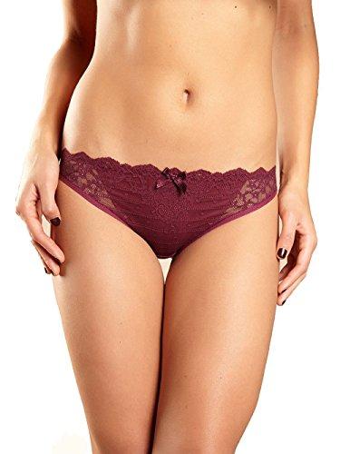 Chantelle Rive Gauche Bikini, Crimson, 2XLarge