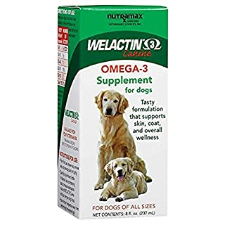 Welactin Omega-3 Skin and Coat Support Liquid, 8 oz