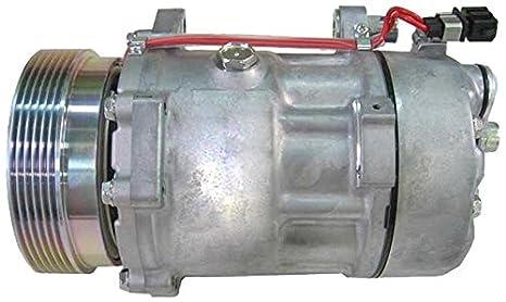 BEHR HELLA SERVICE 8FK 351 127-331 Compresor, aire acondicionado: Amazon.es: Coche y moto