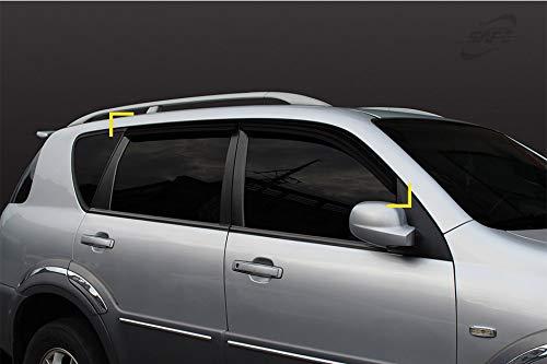 SAFE Windabweiser Fenstervisier Regengitter 4p K-901-092