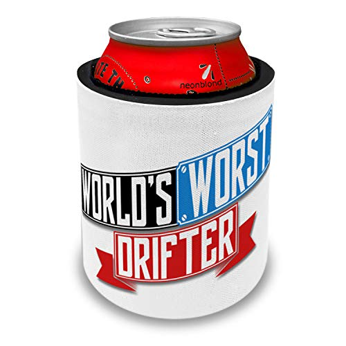 NEONBLOND Funny Worlds worst Drifter Slap Can Cooler Insulator Sleeve