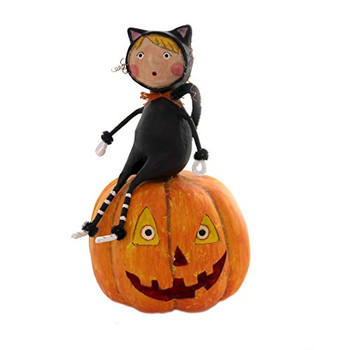 Lori Mitchell CAT & Jack Polyresin Halloween Pumpkin