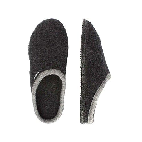anthrazit 42084 Unisex Pantofole Adulto Grigio 019 Dannheim Giesswein OUqT77