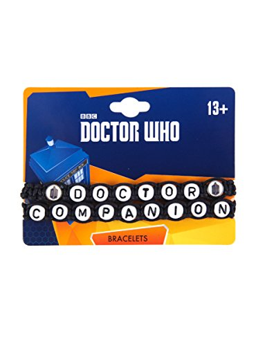 Doctor Who Doctor & Companion Cord Bracelet Set (Hot Topic Doctor Who)