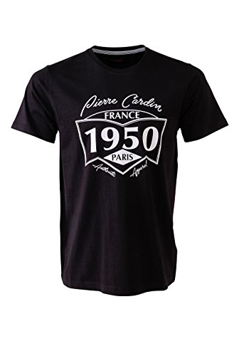 pierre-cardin-mens-new-season-classic-fit-1950-printed-t-shirt-large-black