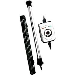 Finnex HMA-50S Electronic Controller Aquarium Heater/Titanium Tube/Heater Guard