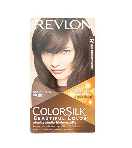 Price comparison product image Revlon Colorsilk -No.32 Mahogany Brown