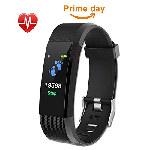 Fitness Tracker,Activity Tracker,Heart Rate Monitor,Smart Watch Pedometer With Steps And Calorie Counter,Sleep Monitor,Touch Screen Smart Bracelet,Waterproof Smart Watch for Men,Women,Teenager,Kids