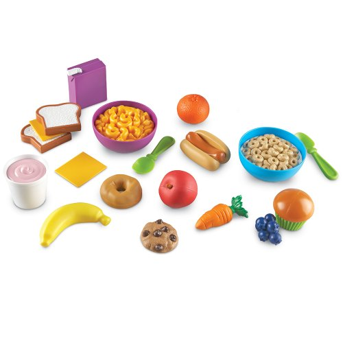 Learning Resources New Sprouts Munch It! Pretend Play Food, 20 Pieces, Ages 18 mos+ ()