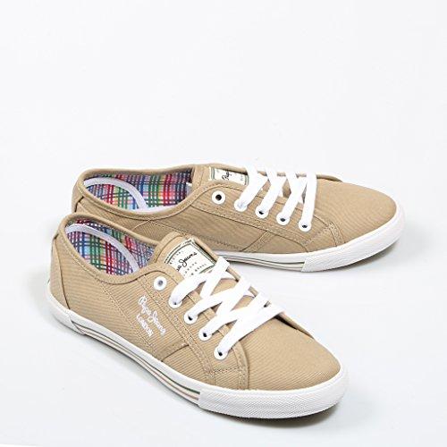 Pepe Jeans London Sneaker Donna Beige Beige