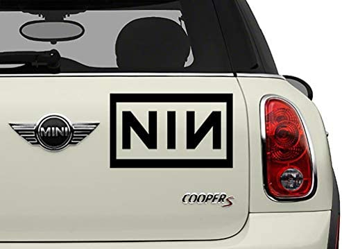 NIN Bands Automotive Decal//Bumper Sticker