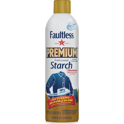 Faultless Premium Professional Starch Spray (Pack of 20)