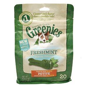 Greenies Treats 15 25lb Fresh Petite