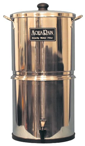 Aqua Rain Gravity Water Filter Model: 402 2 Filter 3 Gallon Capacity by AquaRain