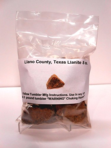 Llanite-Rock Tumbler Rough Rocks Specimens Llano County, Texas 8 oz. by ROCK