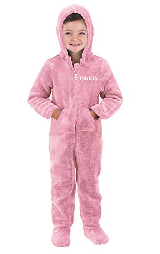 Jual PajamaGram Toddlers and Infant Hoodie-Footie Fleece Onesie ... acd894f1d